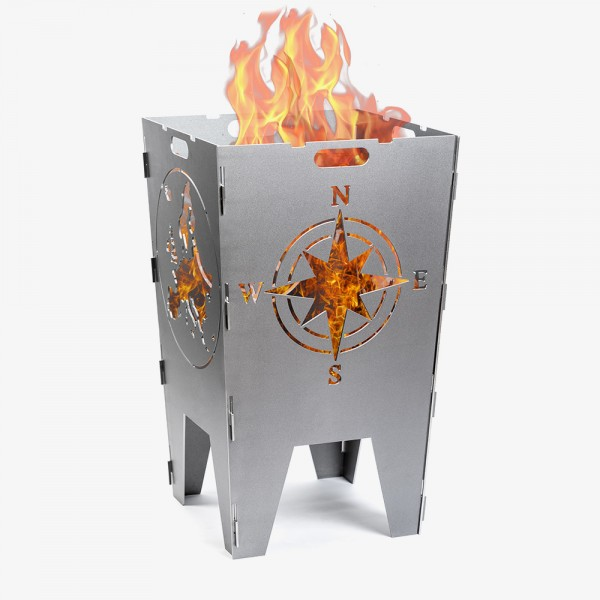 Feuerkorb Globe Stahl
