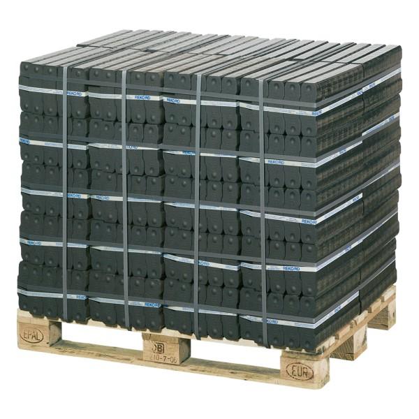 REKORD Braunkohlebriketts als Palette (40 x 25 kg)