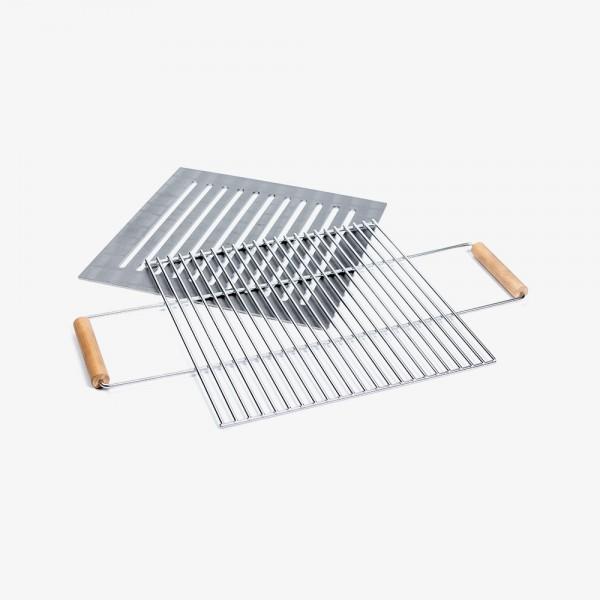 Grillpaket Stahl für Feuerkorb
